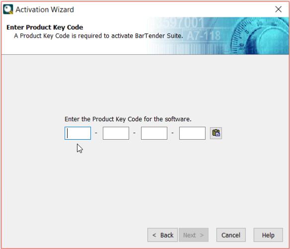 Activation of BarTender Client Software - BarTender