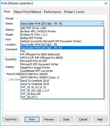 Adding a Printer in BarTender - BarTender Instruction