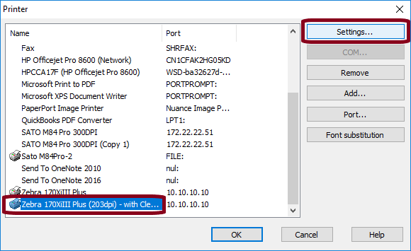Clearing Print Jobs Using Job Modifier - CODESOFT