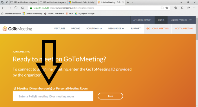 Connect To Ebi Support Using Gotomeeting Ebi Support Instructions