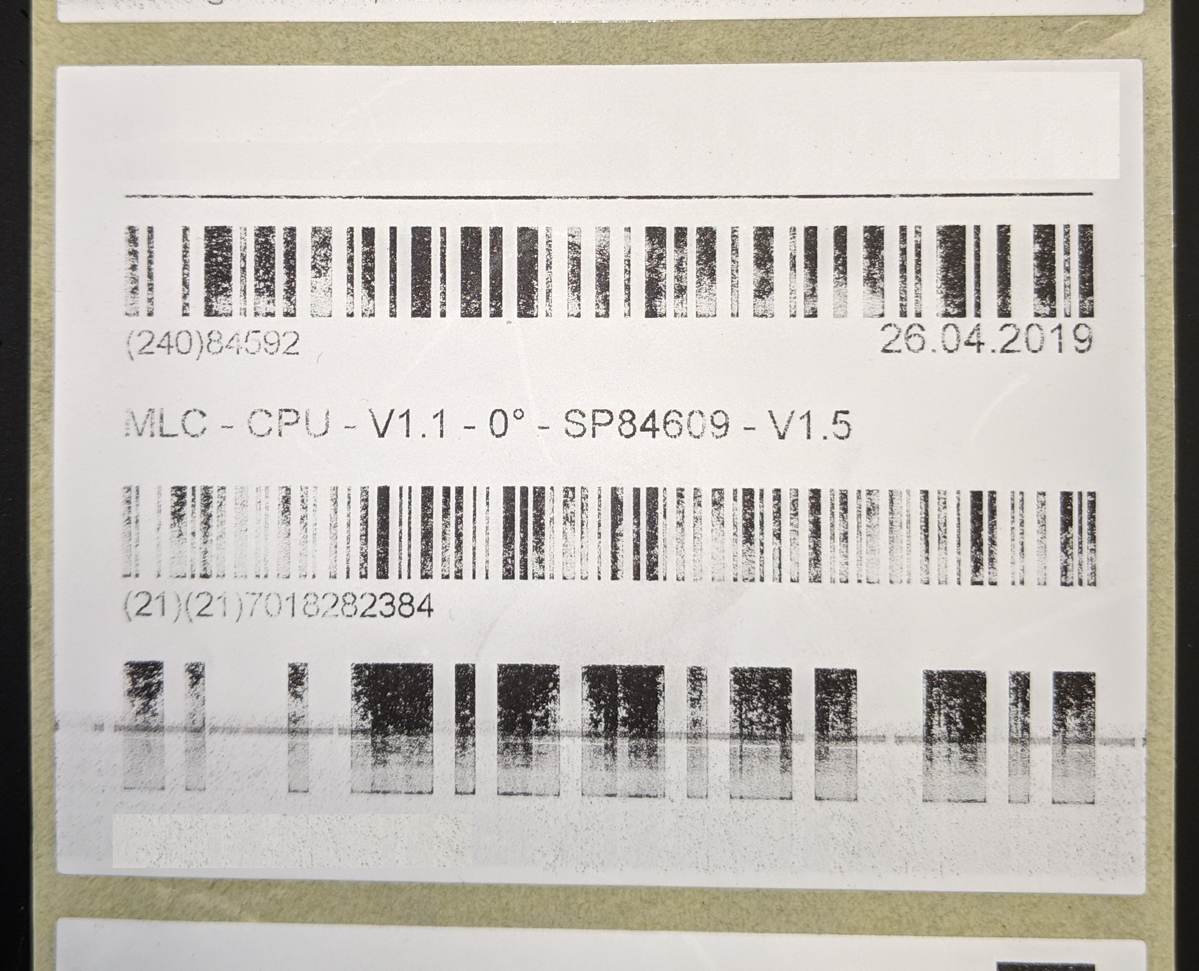 Poor Label Quality On A Toshiba Printer Thermal Printer Problem Efficient Business Integrators Support