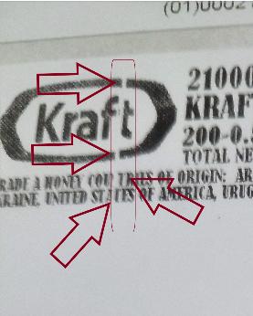 White Stripe on Label - Thermal Printer Problem - Efficient
